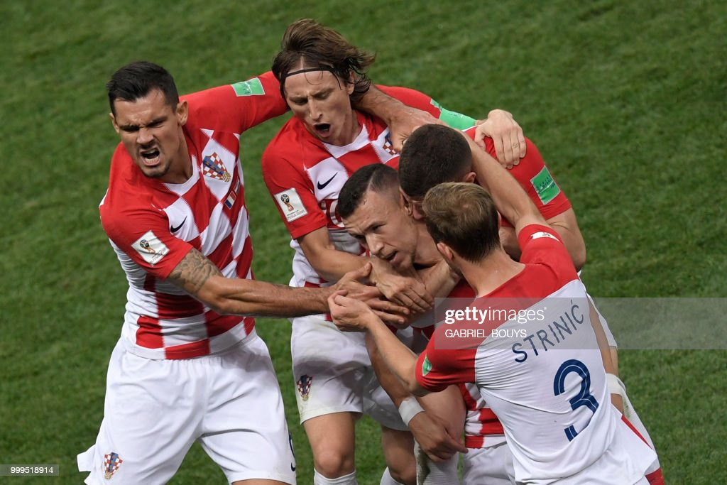 FBL-WC-2018-MATCH64-FRA-CRO : News Photo