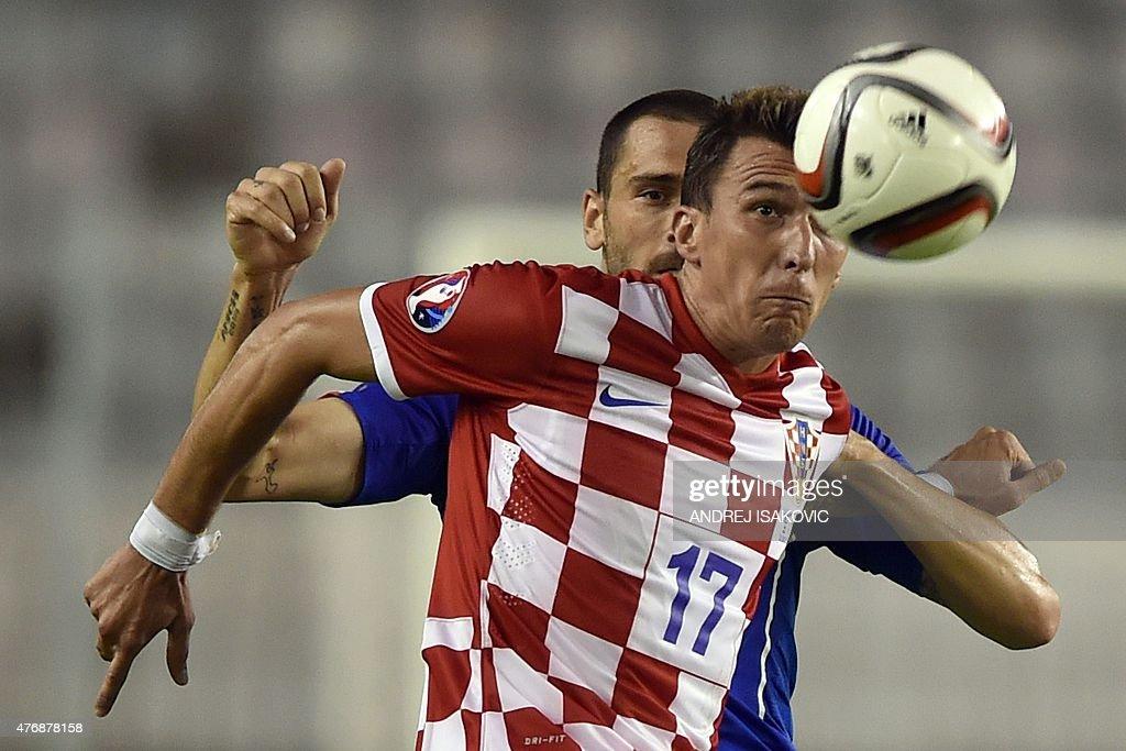 FBL-EURO-2016-CRO-ITA : News Photo