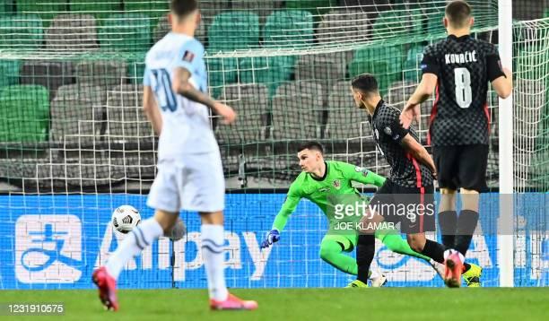 SVN: Slovenia v Croatia - FIFA World Cup 2022 Qatar Qualifier