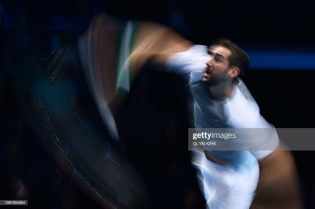 TENNIS-GBR-ATP-FINALS : Foto di attualità