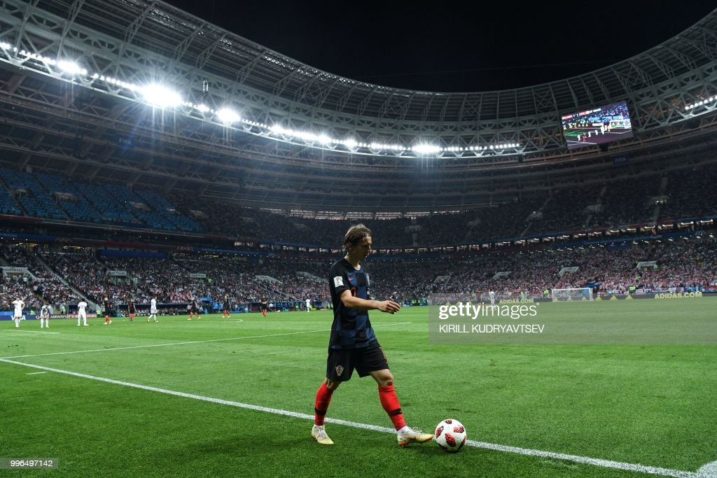 FBL-WC-2018-MATCH62-CRO-ENG : News Photo