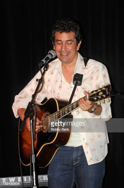 J Croce son of singer/songwriter Jim Croce performs at Lucille's Bar Grill at BB King Blues Club on May 29 2012 in New York City