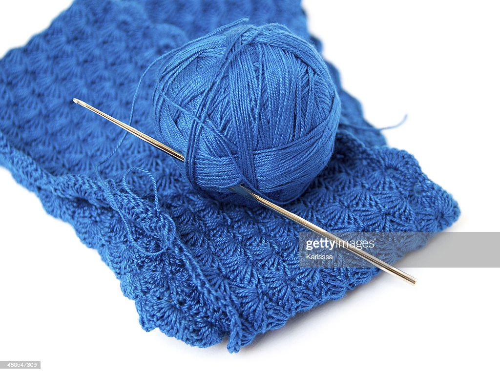 Crochet set : Stock Photo