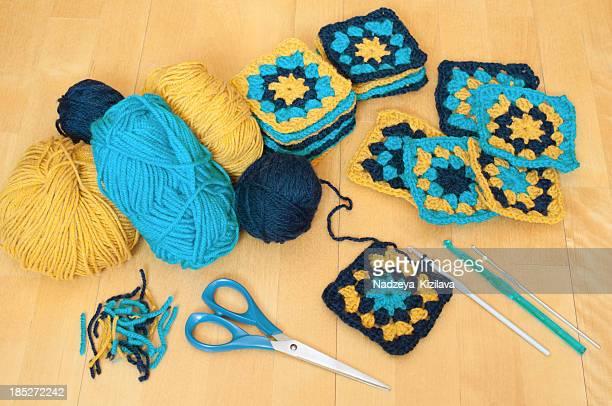 Crochet still life