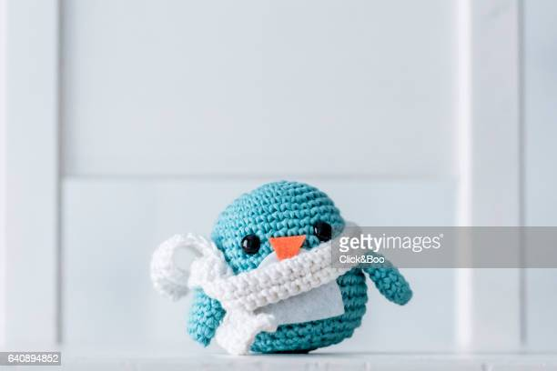 Crocheted penguins