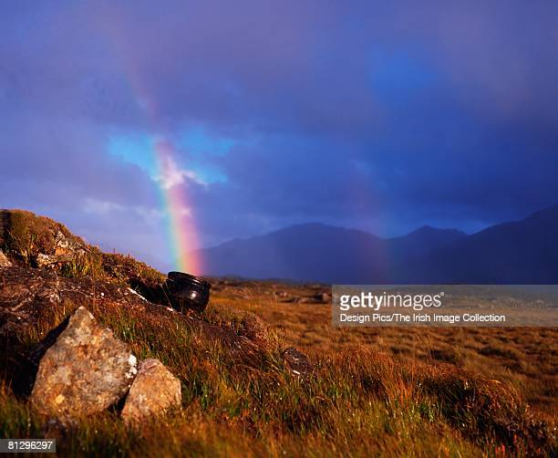 Crock of gold at the end of the rainbow, Co Galway, Ireland