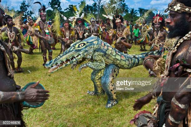 Crocodile dance by Malu village group