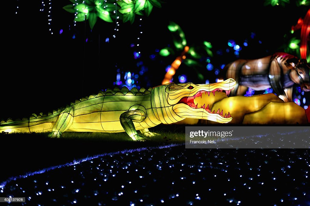 Dubai Garden Glow : News Photo