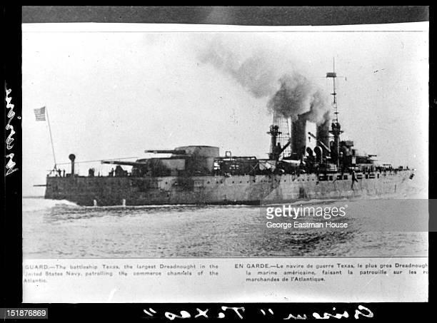 Croiseur 'Texas'/Etats Unis Marine, between 1900 and 1919.