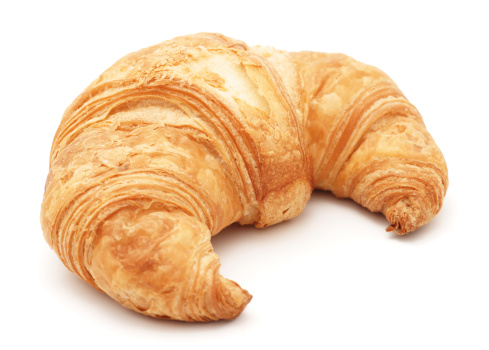 Croissant isolated on white 173894167