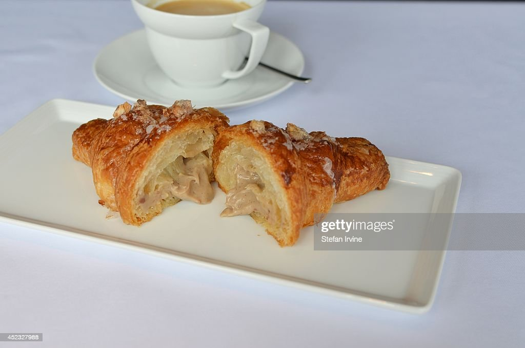 Croissant with \