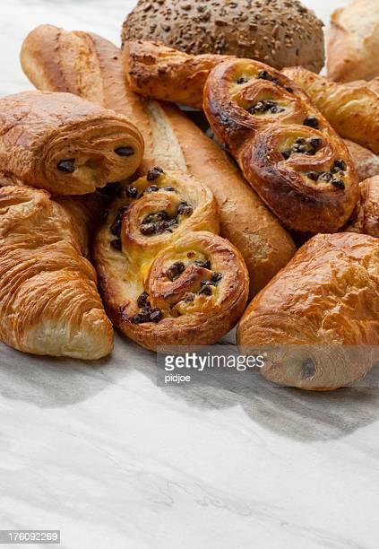 baguette, Croissants, pâtisseries, des pains XXXL