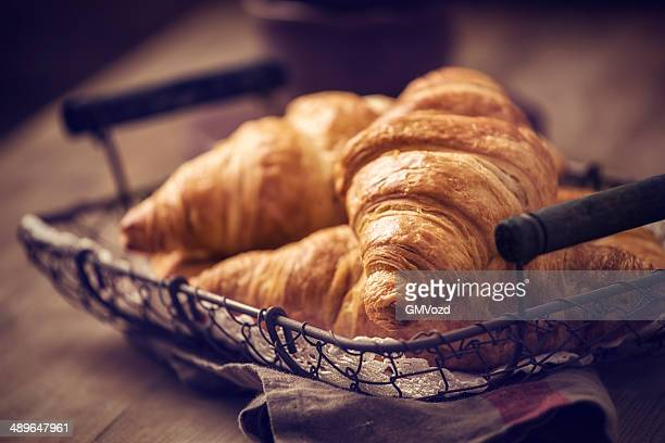 croissants - french food stock pictures, royalty-free photos & images