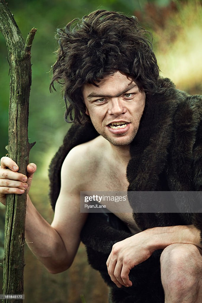 Cro-Magnon Man : Stock Photo
