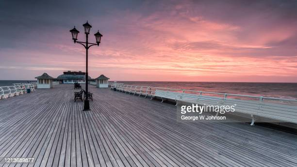 cromer pier i - seascape stock pictures, royalty-free photos & images