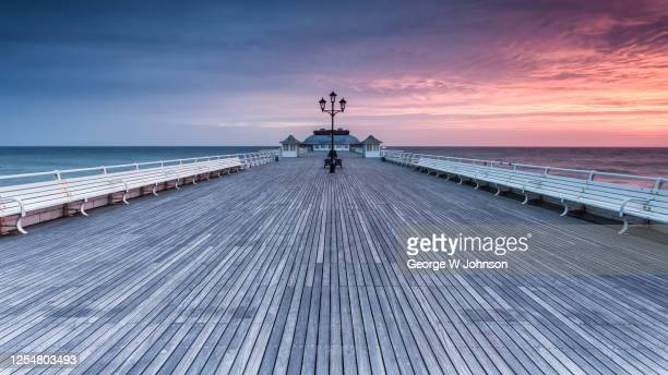 cromer pier ii - scenics stock pictures, royalty-free photos & images