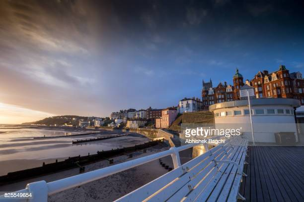 cromer pier - norfolk england stock pictures, royalty-free photos & images