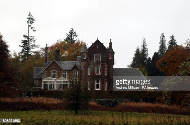 Cromlix House Hotel near Dunblane where Jamie Murray is to marry Alejandra Gutierrez in a ceremony today