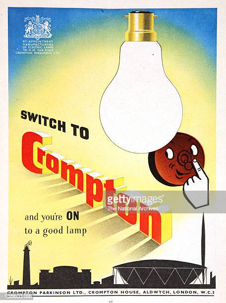 Crompton lamp bulbs in association with the Festival of Britain 1951