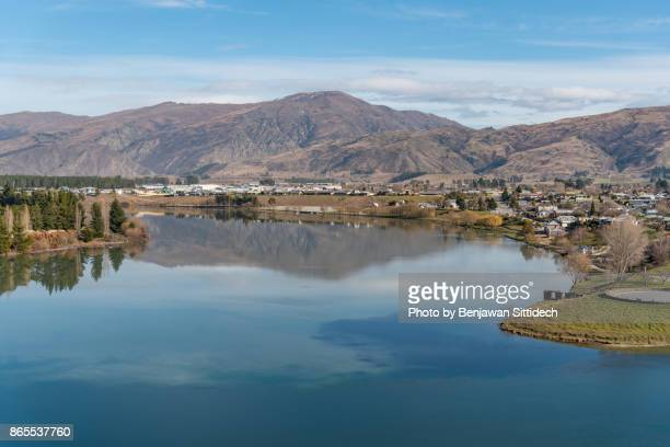 Cromwell, a town in Central Otago, South island, New Zealand