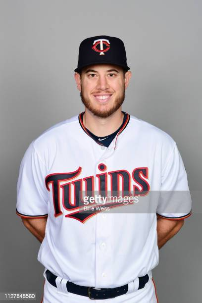 J Cron of the Minnesota Twins poses during Photo Day on Friday February 22 2019 at CenturyLink Sports Complex in Fort Myers Florida