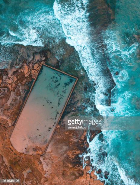 Cronulla Beach rock pool, New South Wales, Australia