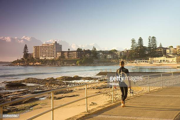 cronulla surfer - south australia stock pictures, royalty-free photos & images