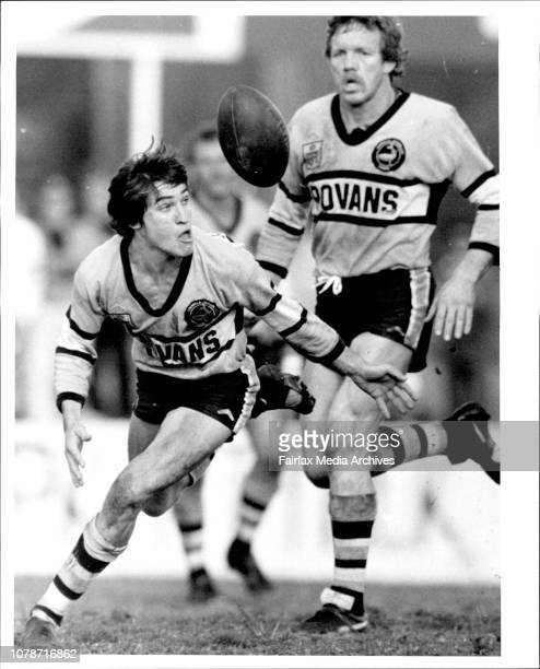 Cronulla V Penrith at Endevour Jonathon Docking July 21 1984
