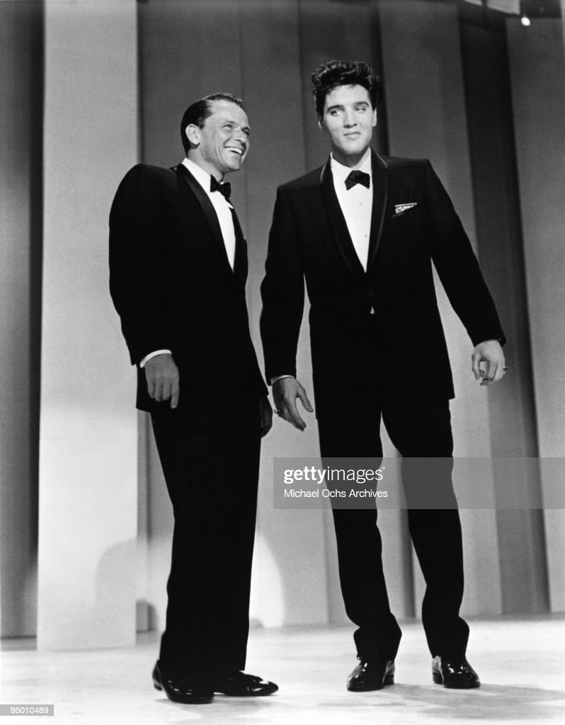 Elvis And Frank : News Photo
