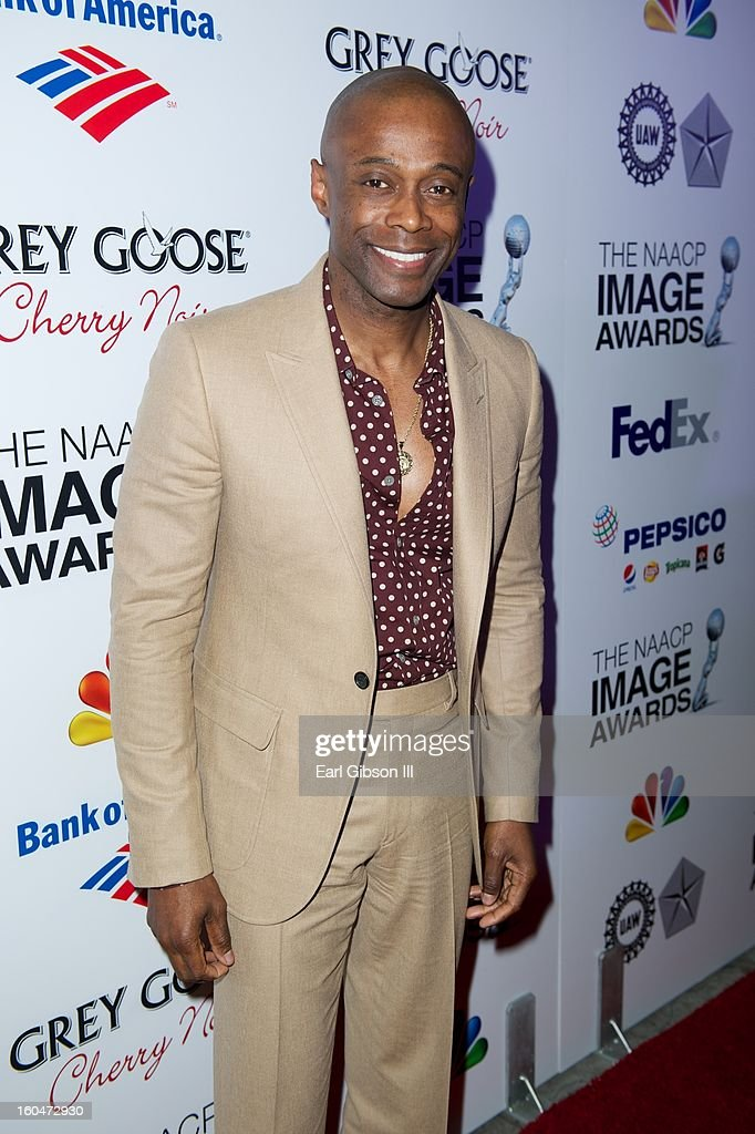 R&B crooner KEM attends the 44th NAACP Images Awards Pre-Gala at Vibiana on January 31, 2013 in Los Angeles, California.