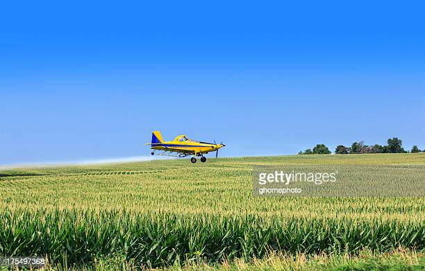 Crop duster airplane