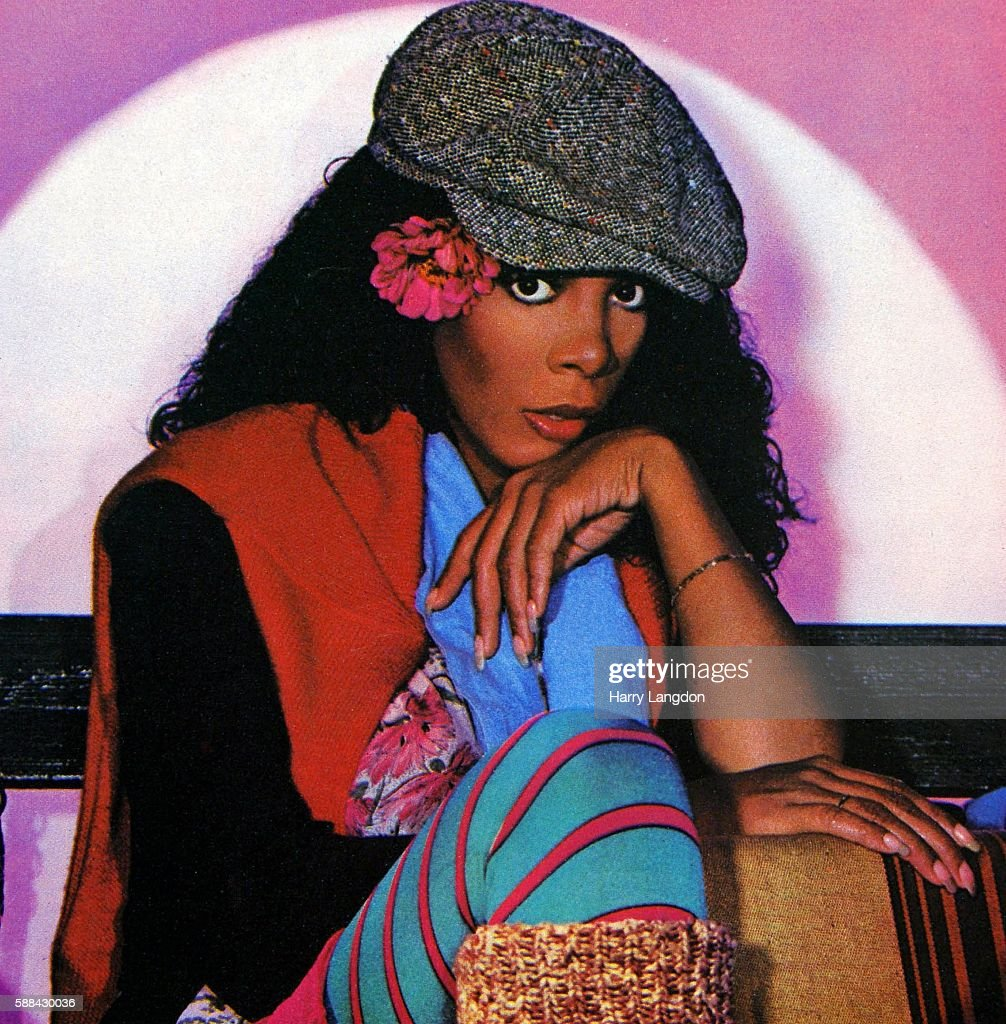 A crop from the front cover of the Donna Summer single 'Cold Love' from the album 'The Wanderer' released in 1980.