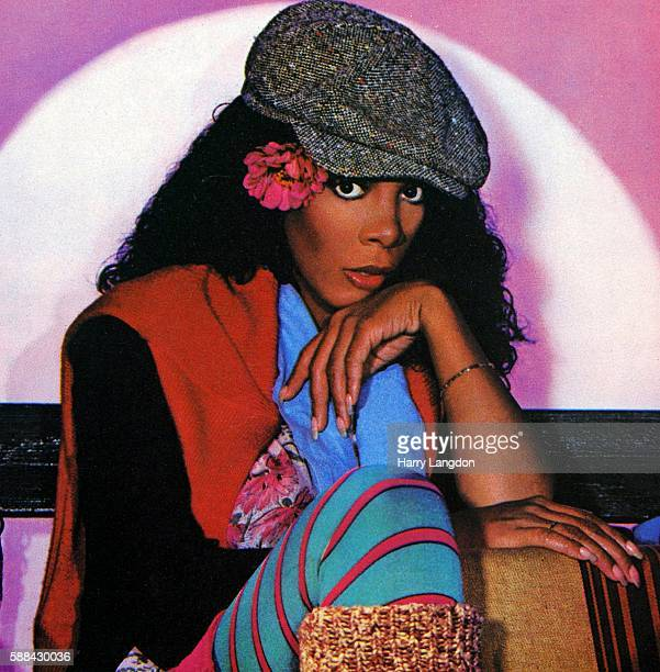 A crop from the front cover of the Donna Summer single 'Cold Love' from the album 'The Wanderer' released in 1980