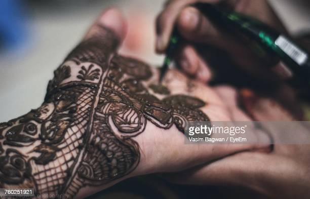 60 Top Henna Tattoo Pictures, Photos, & Images - Getty Images