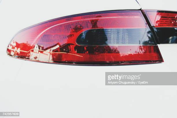 Cropped Image Of Car Tail Light