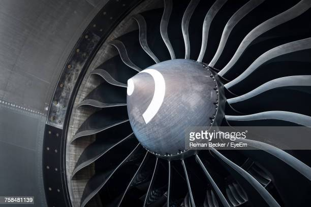 cropped image of jet engine - propeller stock pictures, royalty-free photos & images