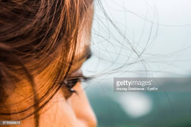 cropped image of mid adult woman - extreme close up stock pictures, royalty-free photos & images