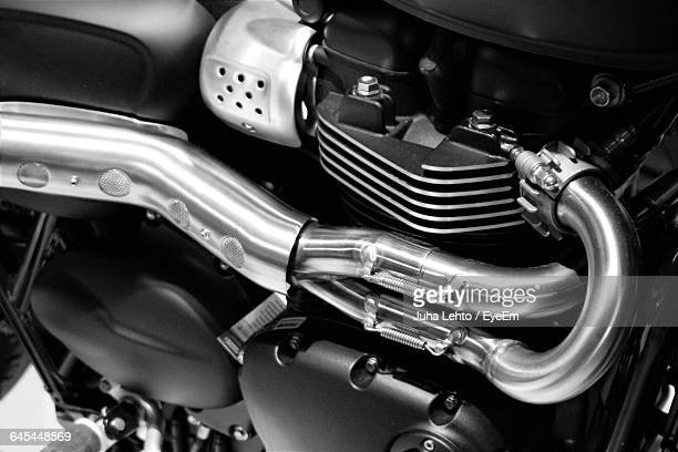 Cropped Image Of Motorcycle