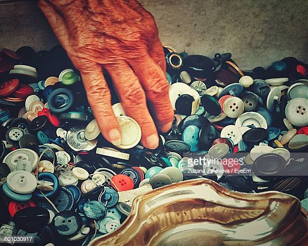 cropped image of person touching buttons - zuzana janekova stock pictures, royalty-free photos & images