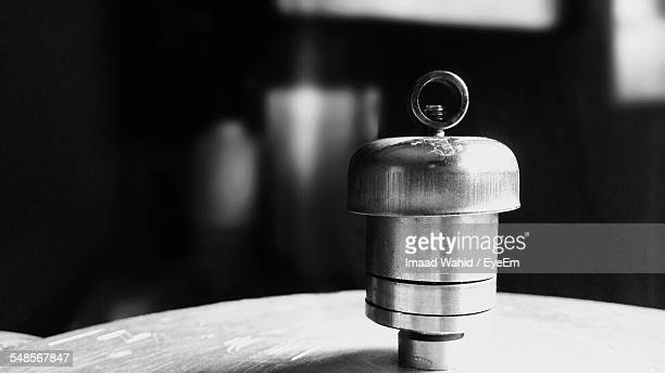 Cropped Image Of Pressure Cooker