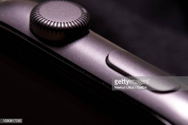 cropped image of smart watch - watch timepiece stock pictures, royalty-free photos & images