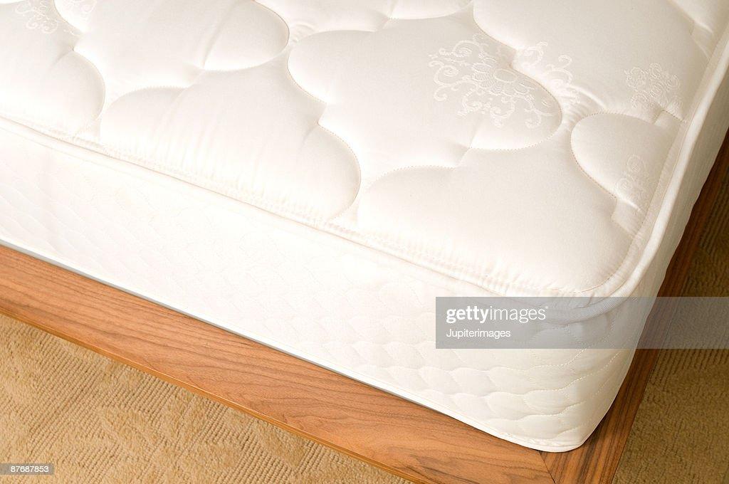 Cropped mattress : Stock Photo