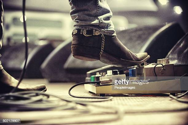 controlling the music - blues music stock pictures, royalty-free photos & images