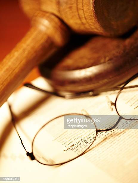 tools of the legal trade - sentencing stock pictures, royalty-free photos & images