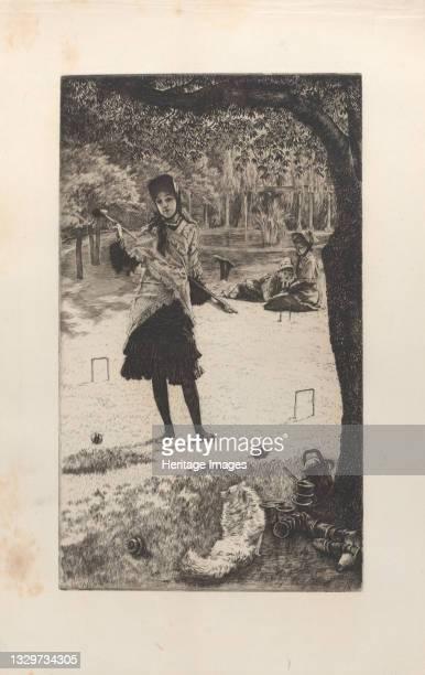 Croquet, 1878. Artist James Tissot.