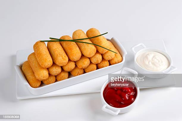 croquettes - croquette stock photos and pictures