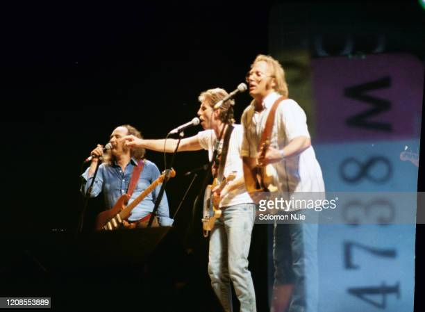 Crosby Stills and Nash Allies Tour 1112 July 1983 Wembley Arena