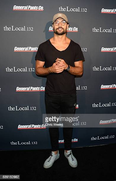 Crosby Tailor attends The Local 132 By General Pants CoStore Launch Los Angeles on June 9 2016 in Los Angeles California