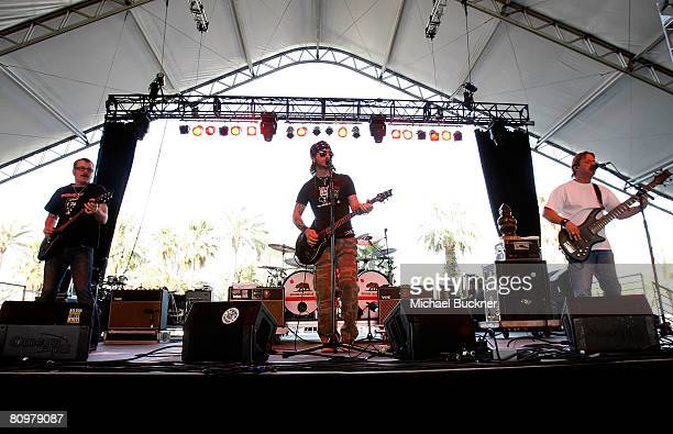 Cross Canadian Ragweed performs during day 2 of Stagecoach California's Country Music Festival held at the Empire Polo Field on May 3 2008 in Indio...