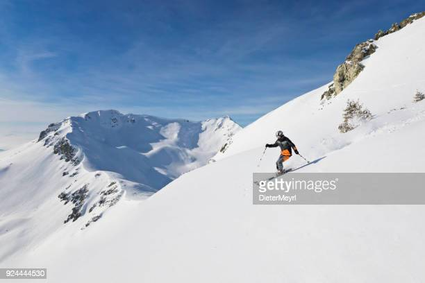 Cross country skiier - Alps